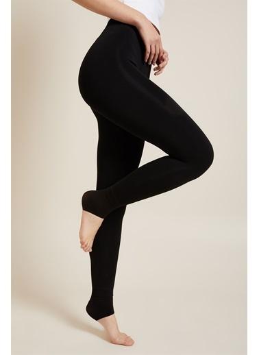 Z Giyim Z Giyim İÇi Peluşlu Termal İÇlik Tayt Siyah